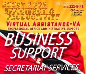CDC Virtual Assistance (VA) Business Administrative & Secretariat Support Services