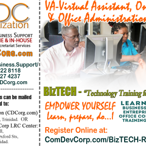 Virtual Assistant (VA), Office Administration & Online CRM Training
