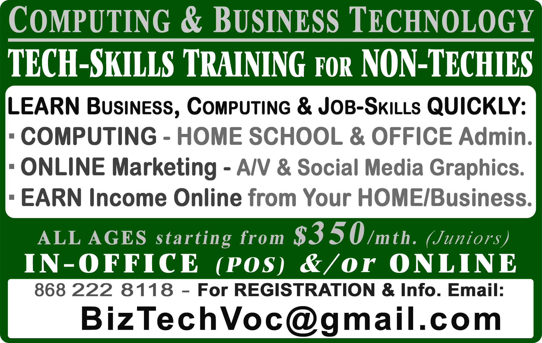 BizTech Business & Technology Skills Training